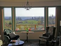 ocean view custom-built home on 4 acres near Victoria.